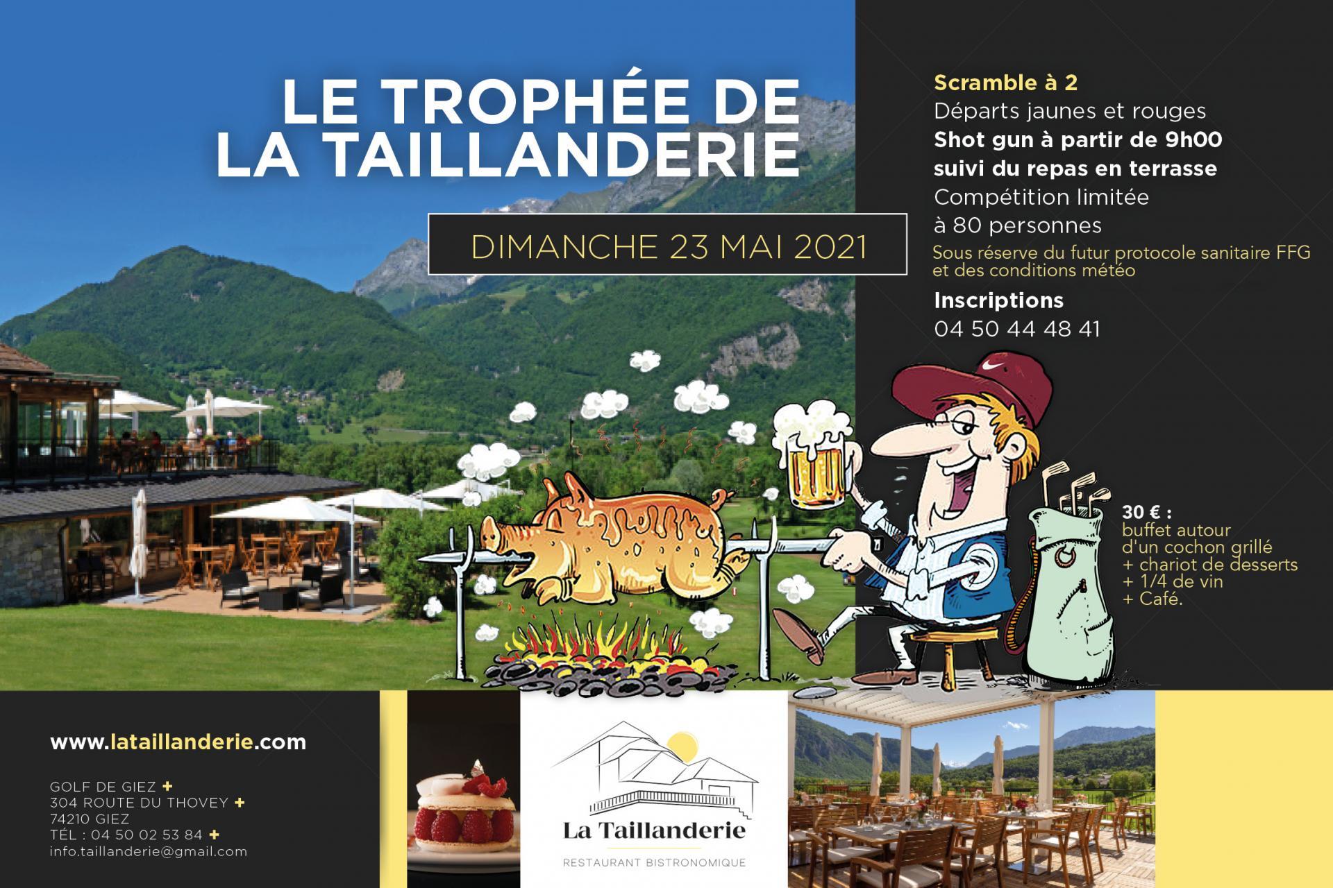 Affiche trophe e taillanderie 2022