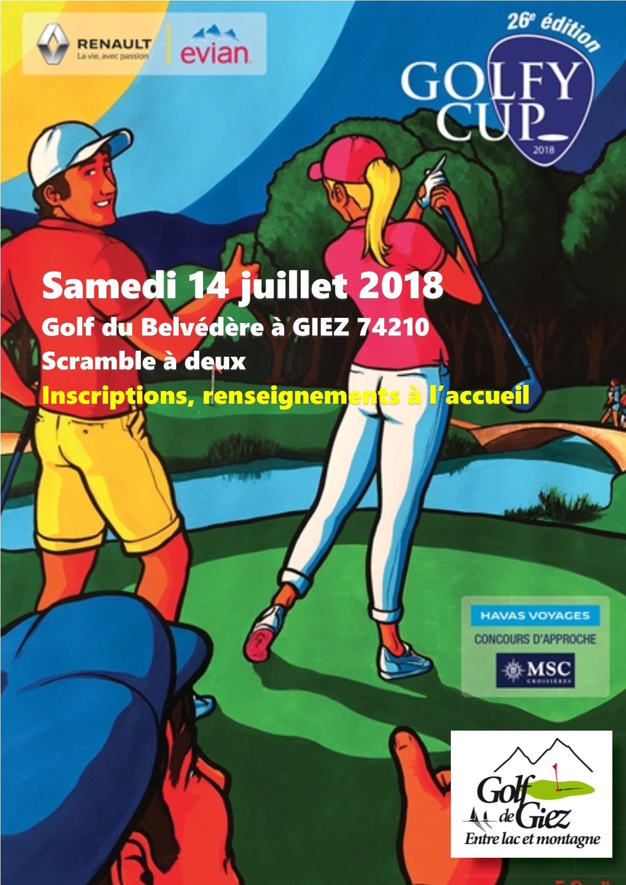 Golfycup 2018