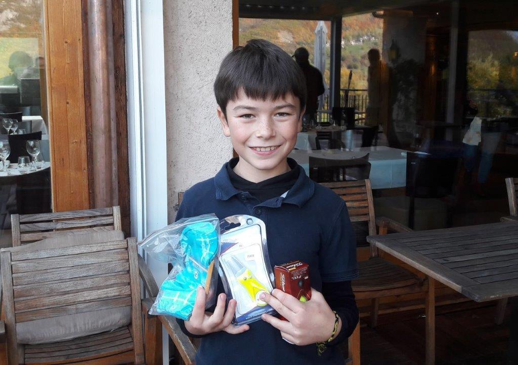Nathan Brachet vainqueur enfant du trophée des castors 2020