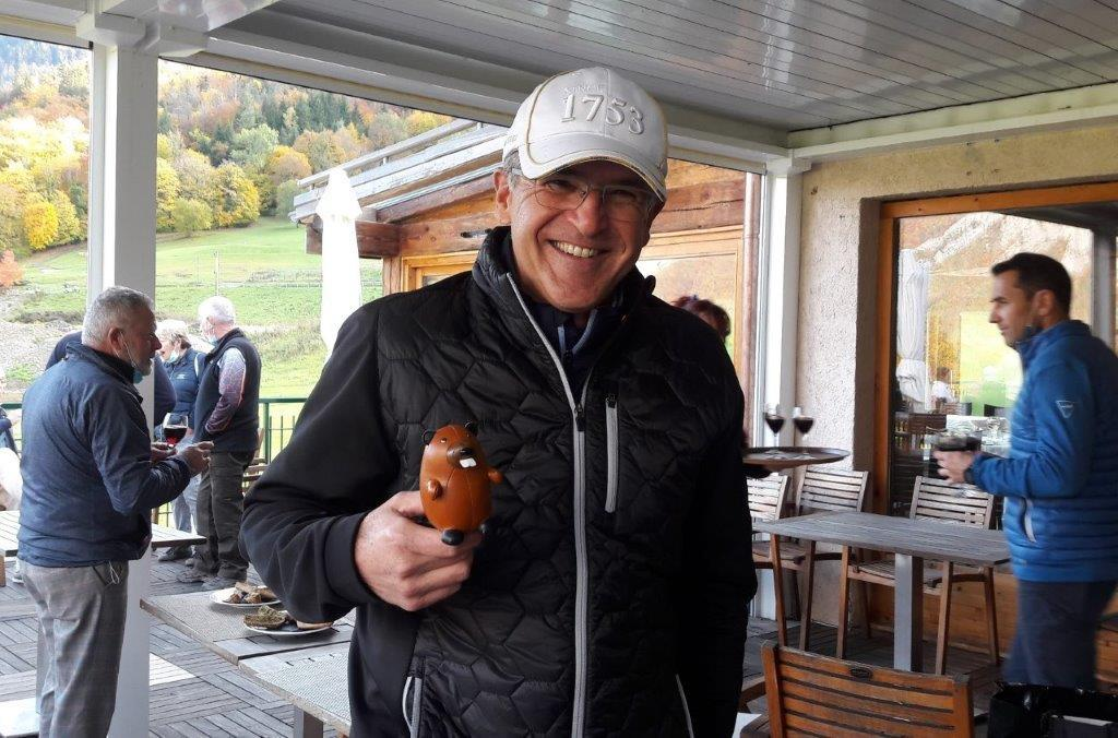 Olivier Schwander vainqueur du trophée des castors Hommes 2020