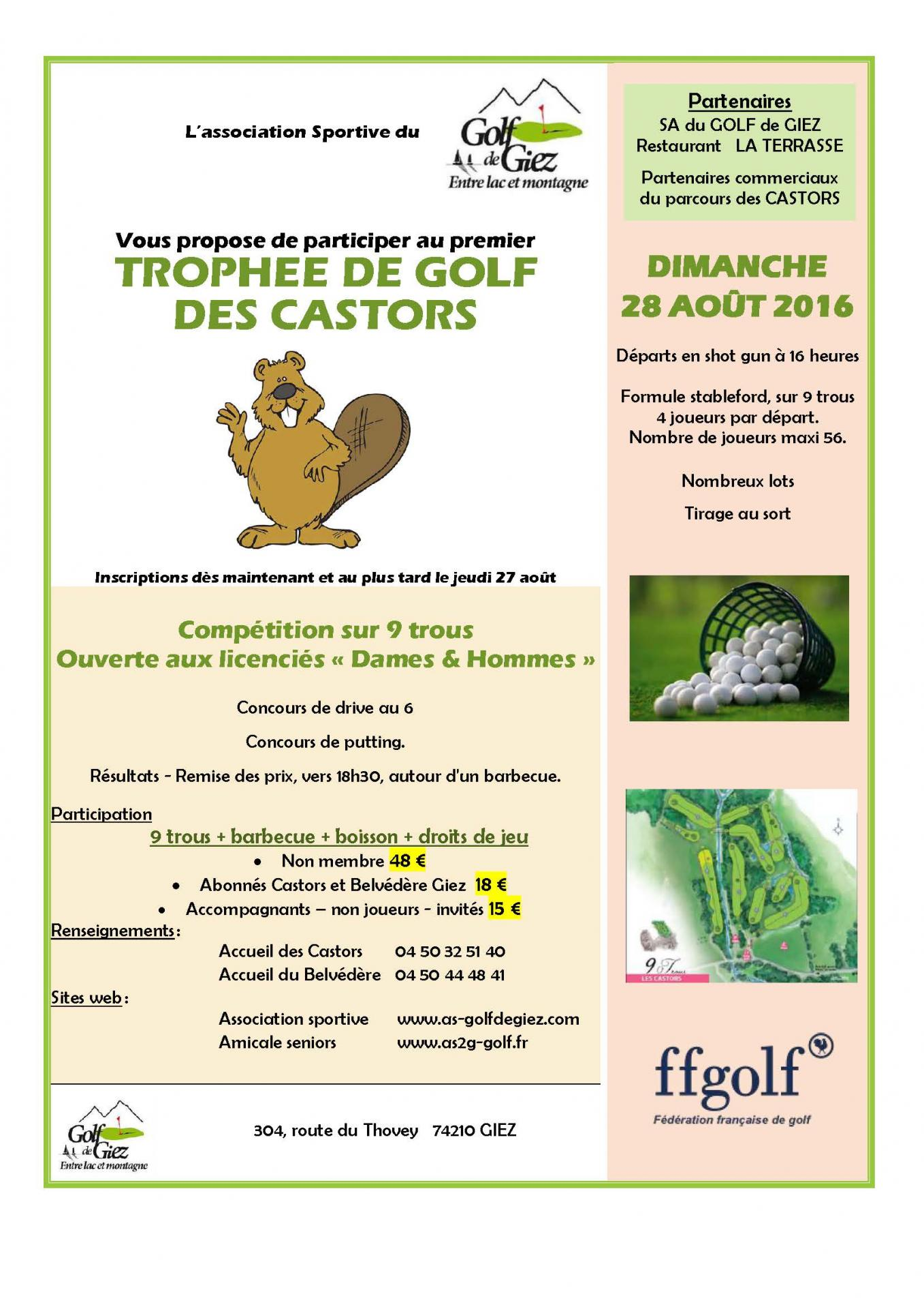Trophée des castors 2016